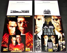 2 BEN AFFLECK Movie PRESS KITS SUM OF ALL FEARS & CHANGING LANES Samuel ... - $6.89