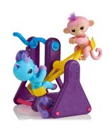 WowWee Fingerlings Playset - See-Saw with 2 FingerlingsToys, Coral & Callie - $76.99