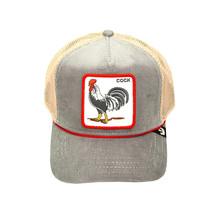 Goorin Bros Snapback Mesh Cap The Arena Rooster Corduroy Trucker Hat 101-2707 image 2