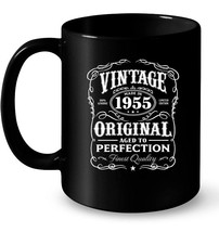Vintage Made In 1955 Ceramic Mug 63rd Birthday Gift - $13.99+
