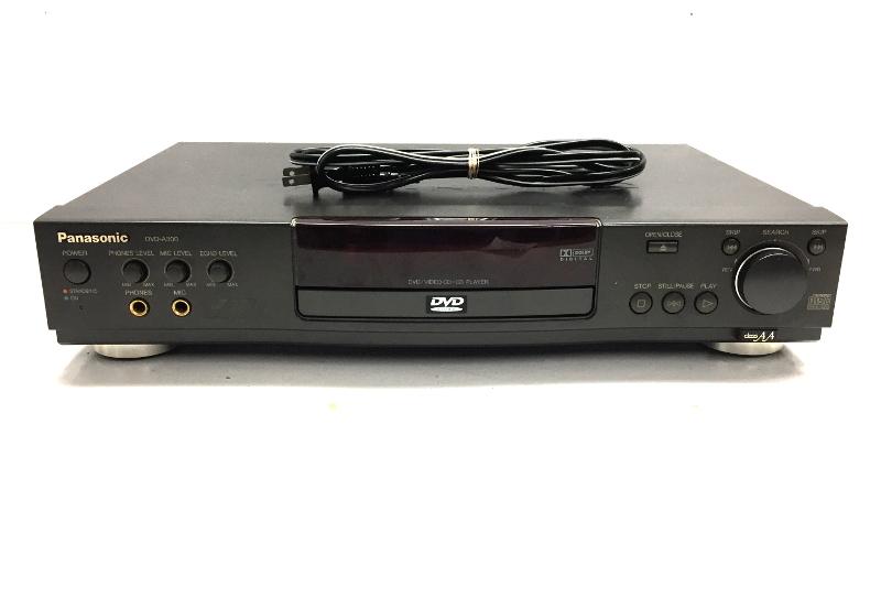 Panasonic Dvd Player Dvd-a300u - $19.99