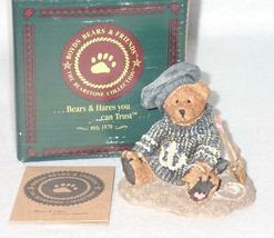 Boyd Bearstone Resin Bears 1993 Christian By The Sea Figurine #2012 29E NEW image 4