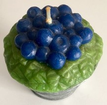 Avon 1997 Berry Figural Candle Blueberry - $11.75