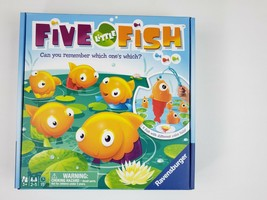 Five Little Fish Game Preschool Ages 3+ Board Game 2-5 Players Ages 3+ NIB - $8.99