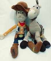 Toy Story Woody an Bullseye Plush Toys Toy Story Movie Disney Pixar - $15.43
