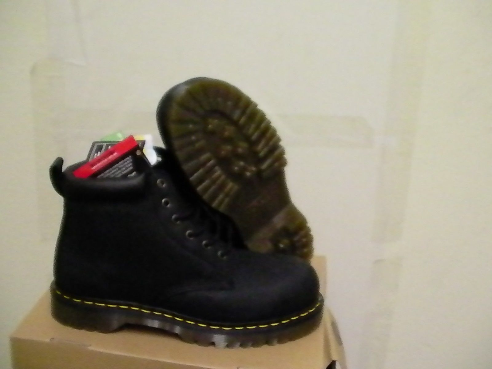 d9e8ed485ab8 Dr martens boots forge st awwoblk Black size and 50 similar items