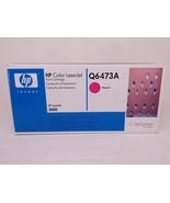 HP Q6473A Magenta Genuine Toner Cartridge NEW SEALED - $45.82
