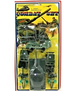 Kositoy Army Combat Set Green Toy Soldiers New Tank Jeep Helicopter Free... - $39.59