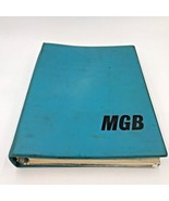 Vintage MGB Workshop Manual 12th Ed 1972 British Leyland MG Original Bin... - $49.95