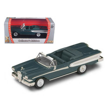 1958 Edsel Citation Green 1/43 Diecast Car by Road Signature 94222grn - $19.30