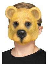 Bear Mask Child Light Brown, Children's Animal Fancy Dress, One Size #AU - $7.10