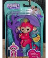 Wow Wee Fingerlings Baby Monkey Bella Pink Monkey - $39.00
