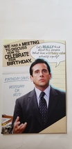 """Greeting card birthday the Office humor """" we had a meeting to discuss ho... - $3.99"""