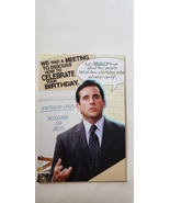 "Greeting card birthday the Office humor "" we had a meeting to discuss ho... - $3.99"