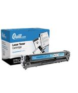 Quill Brand Remanufactured Laser Toner Ink Cartridge Cyan HP 128A CE321A - $16.05