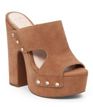 Women's Jessica Simpson Wynne Sandals, Sizes 6-10 Dakota Tan Lux Suede JS-WYNNE - $79.96