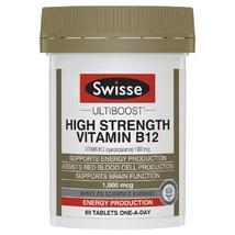 Swisse Ultiboost HS Vitamin B12 60 Tablets - $126.99