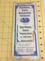 New York Life Insurance Company 1946 $1000 Life Policy w/Beneficary Chan... - $127.35