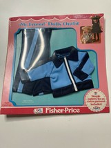 Vintage 1979 My Friend Doll Fashions Fisher Price Clothes Jogging Outfit New 224 - $24.65
