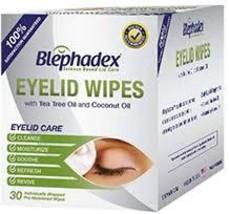 Blephadex eyelid scrub 30ct free shipping - $21.09