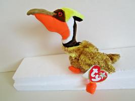 TY Beanie Babies GLIDER orange brown yellow bird PLUSH TOY  2001 - $4.99