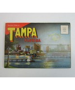 Vintage 1945 Tampa FL Fold-Out Postcard Views Folder - Curt Teich & Co  ... - $8.99
