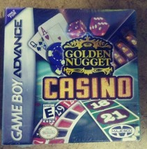 Golden Nugget Casino & Texas Hold'Em Poker GBA Nintendo Game Boy Advance... - $9.16