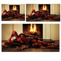 Deadpool 2 Enchanting Pattern Extended Mouse Pad Computer Desk Pad Three... - $245,38 MXN+