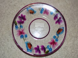 Yankee Candle Plate Flowers/Butterfly NEW HTF - $17.01