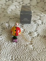 Avon Gift Collection Circus Ornament Roly Poly Clown - $5.81