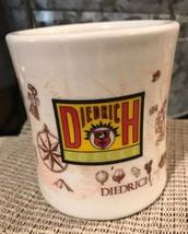 Vintage DIEDRICH COFFEE Restaurantware Restaurant Ware Cup Mug - $30.85