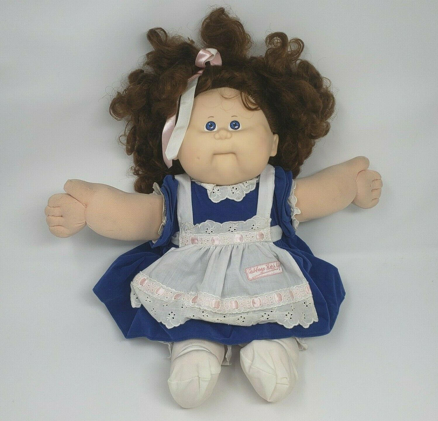 Primary image for VINTAGE 1988 CABBAGE PATCH KIDS CPK GIRL DOLL PLUSH NON TALKING BROKEN REPAIR  A