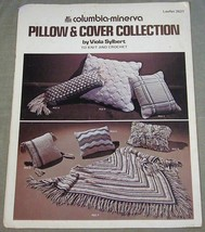 Columbia-Minerva Pillow & Cover Collection Leaflet 2621 Knit and Crochet - $7.43