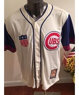 Chicago Cubs #14 Ernie Banks (Mr. Cub) Throwback Jersey Cooperstown Collection - $59.99