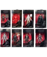 Star Wars The Black Series Wave 13 Complete Set 6 Inch Action Figures Th... - $89.05