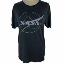 NASA Women's Size M Logo White Letters California ScienCenter Crew Slim ... - $14.84