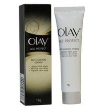 OLAY AGE PROTECT ANTI-AGEING CREAM 18 gm X 2  PIECE WITH FREE SHIPPING - $17.30