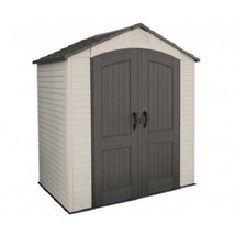 Lifetime Sheds 7x5 Plastic Storage Shed Kit w/ Floor (60057) - $837.98
