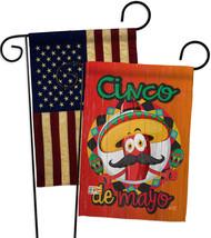 Amigo Chili Cinco de Mayo - Impressions Decorative USA Vintage - Applique Garden - $30.97