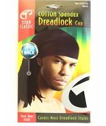 Titan Classic Cotton Spandex Dreadlock Cap Open Back Styles Stretchable ... - $5.95