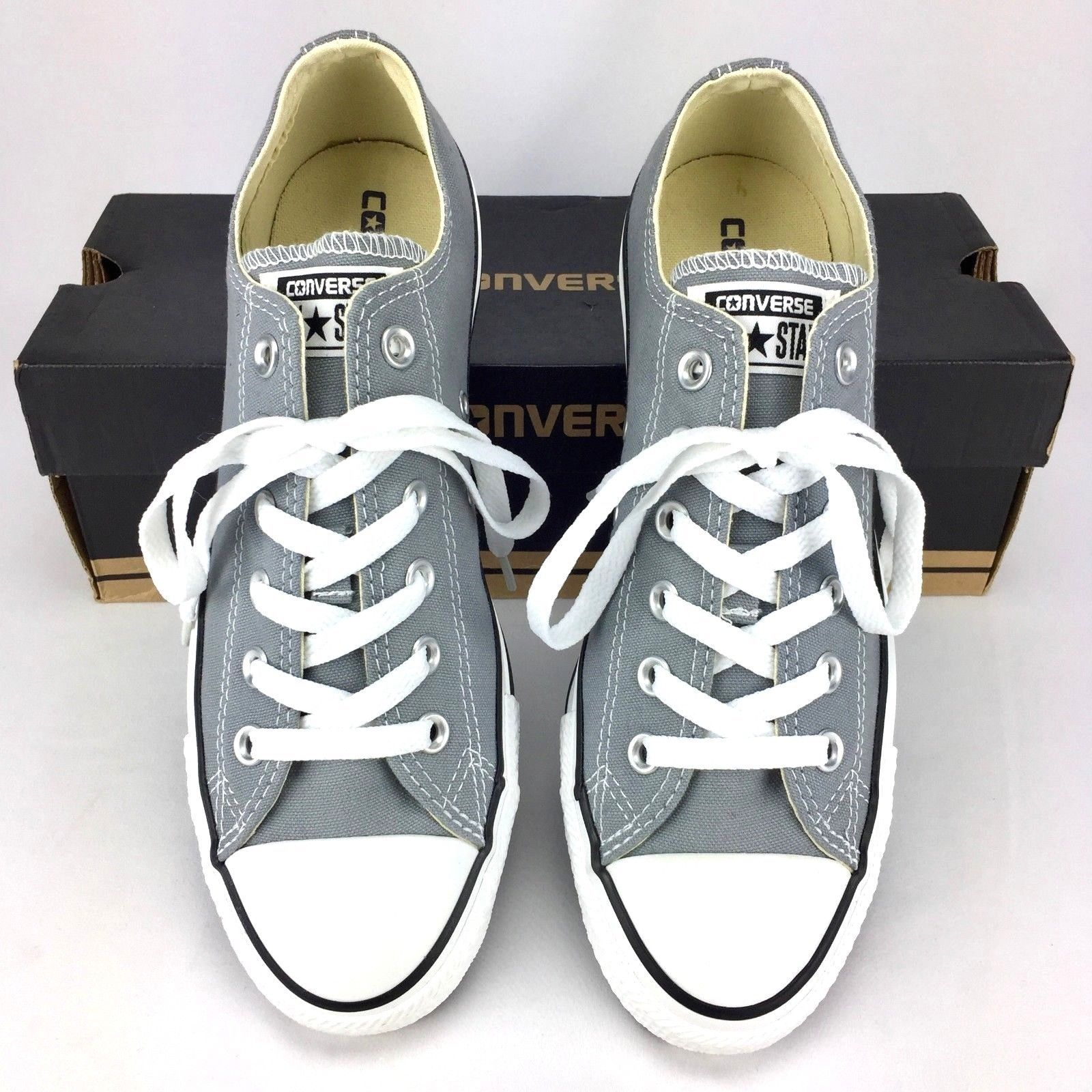b8b3b73b0697 S l1600. S l1600. Previous. Converse All Star Unisex Low Top Sneakers Size  Mens 7   Womens 9 Dolphin Grey