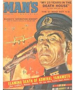 MAN'S January 1961 - SYD SHORES, LEON GREGORI, HOWARD HOPEWELL, JONATHAN... - $17.99