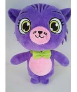 "Little Charmers Seven Cat Purple Soft Plush Stuffed Animal Doll Toy 8"" - $6.38"