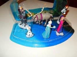 Disney - la Reine des Neiges Figurine Jeu Ensemble Store Exclusif- Nouveau - G1 - $58.79