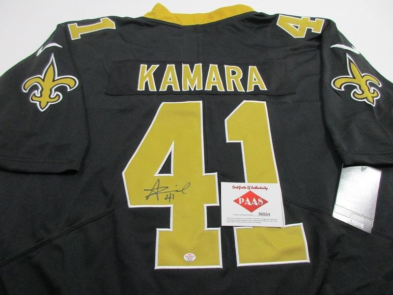 info for 1ea69 078af Alvin Kamara - New Orl EAN S Saints - Hand and 50 similar items
