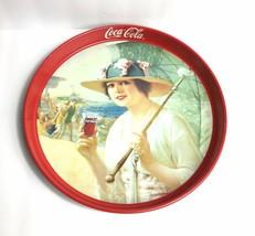 "Vintage Coca Cola ""Girls At The Seashore"" Tray (1987) - $26.87"