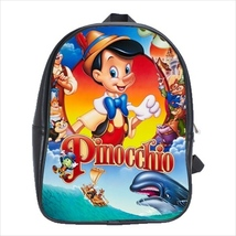 School bag pinocchio bookbag  3 sizes - $38.00+