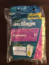 UltraCare Premium Vacuum Bags VacBags Kenmore U 50688 Upright  5 Bags (OPEN PKG - $12.87