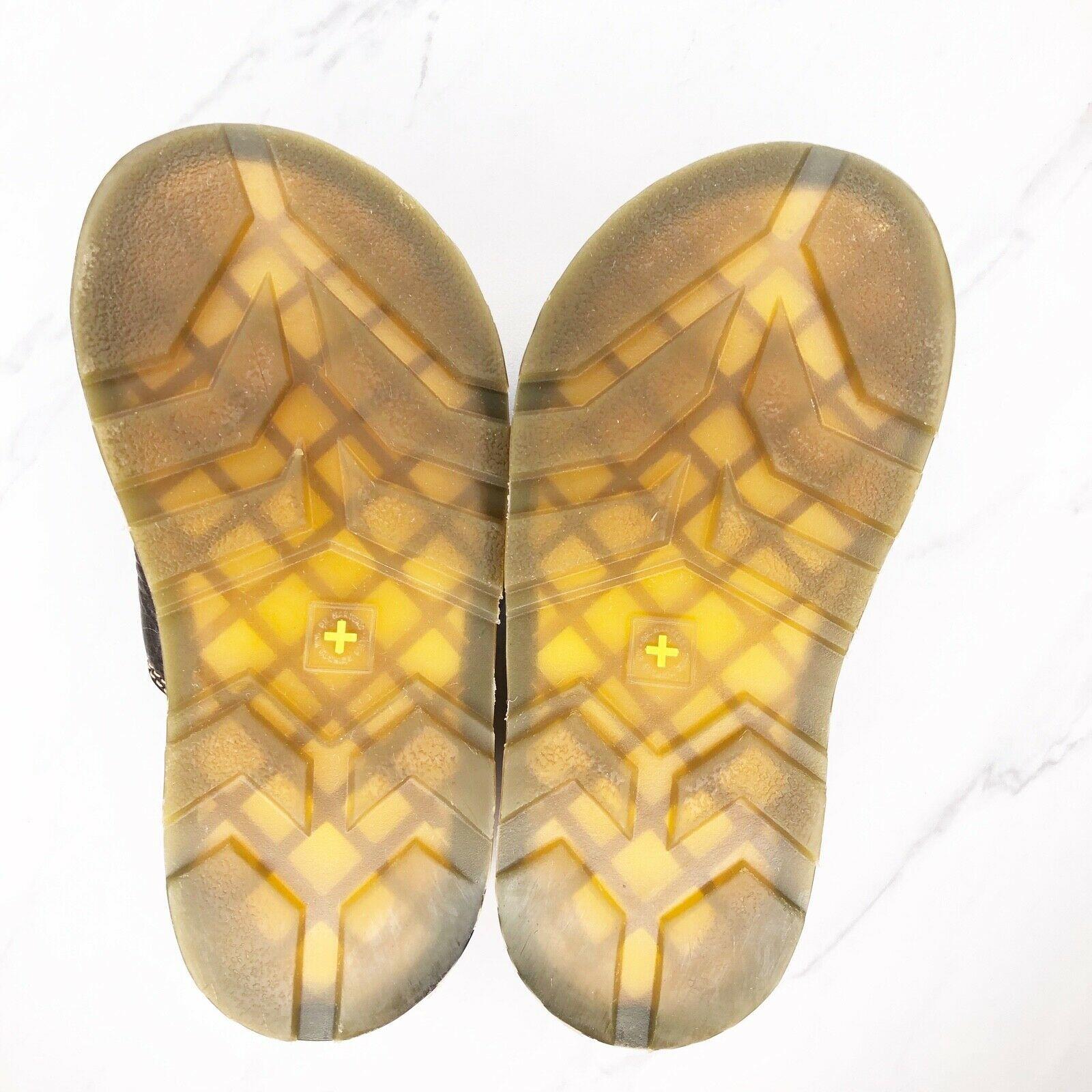 Dr. Martens Women's 6 M Brown Leather Sandals Slides Shoes image 6
