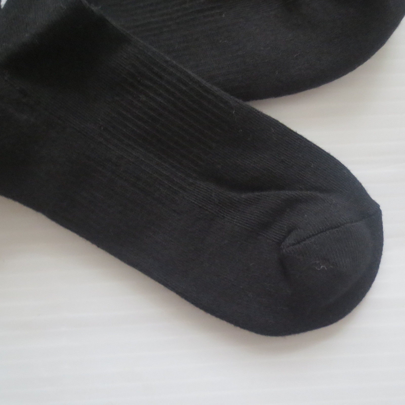 Nike Youth Performance Crew Socks - SX5815 - Black Stripe - Size M - NEW